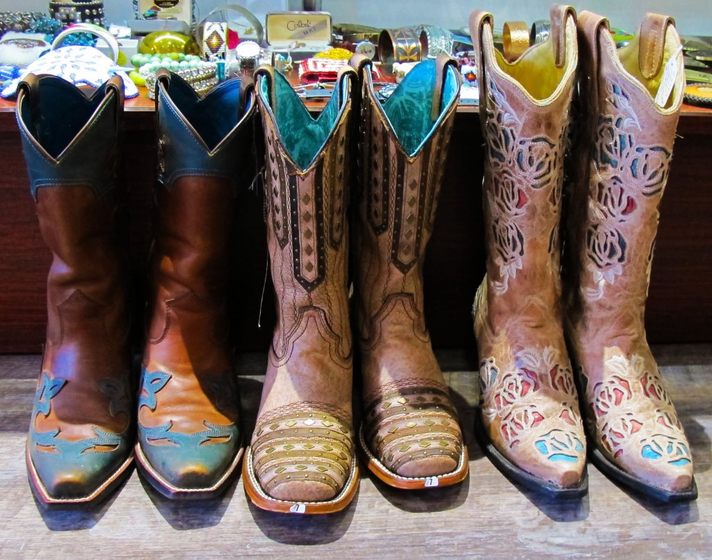 Both Vintage and Modern Cowboy Boots